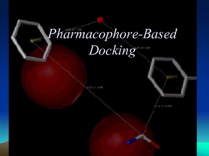 Pharmacophore-Based Docking 9