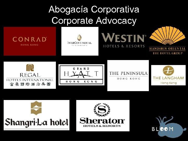 Abogacía Corporativa Corporate Advocacy