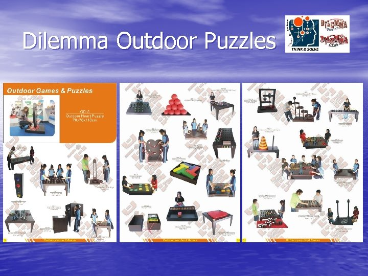 Dilemma Outdoor Puzzles