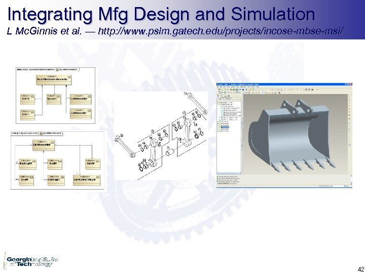 Integrating Mfg Design and Simulation L Mc. Ginnis et al. — http: //www. pslm.
