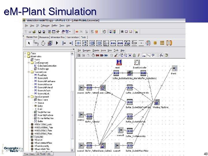 e. M-Plant Simulation 48