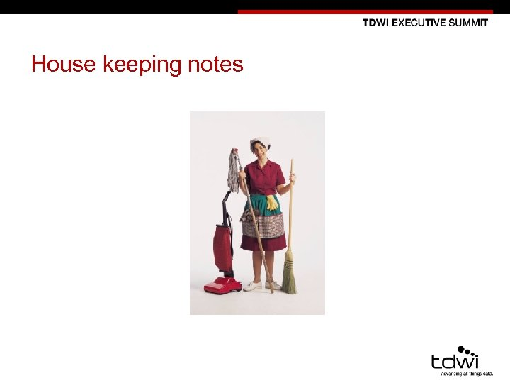 House keeping notes 9