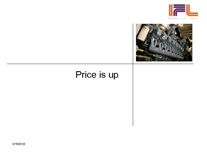 Price is up 3/15/2018