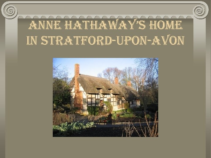anne hathaway's home in stratford-upon-avon
