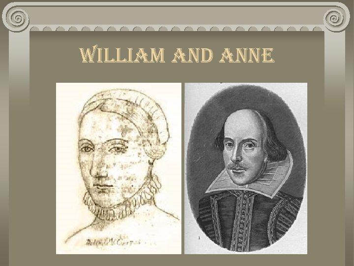william and anne