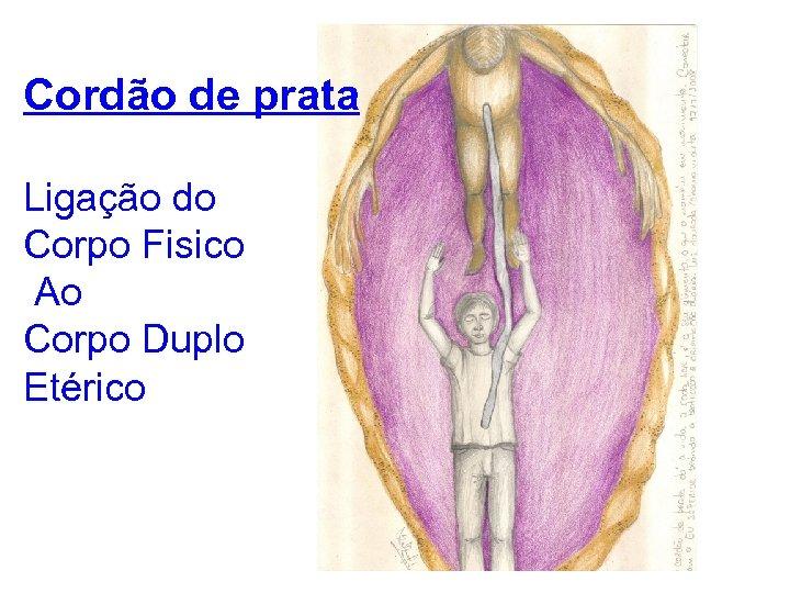 Cordão de prata Ligação do Corpo Fisico Ao Corpo Duplo Etérico