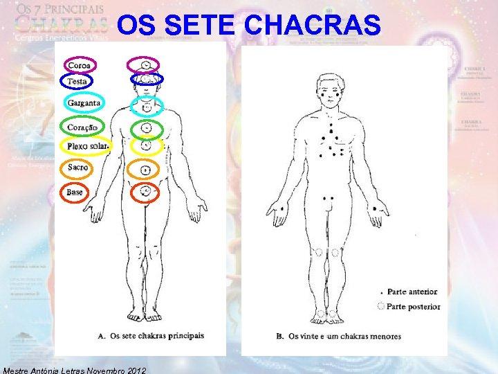 OS SETE CHACRAS Mestre Antónia Letras Novembro 2012