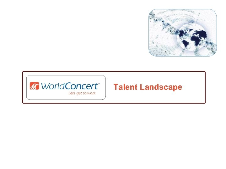 Talent Landscape