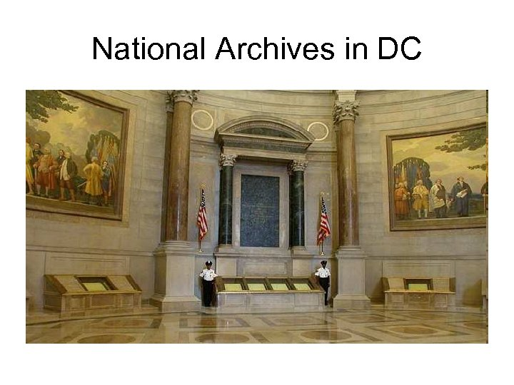 National Archives in DC