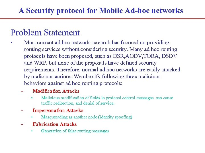 Phd thesis on mobile ad hoc networks
