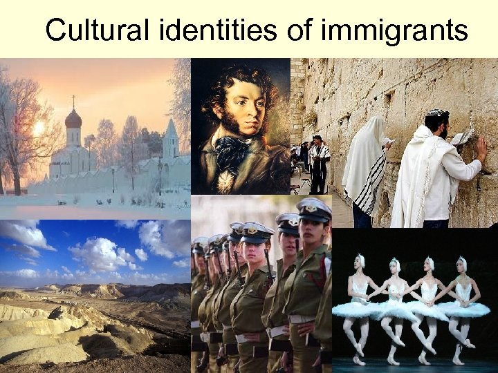 Cultural identities of immigrants 19
