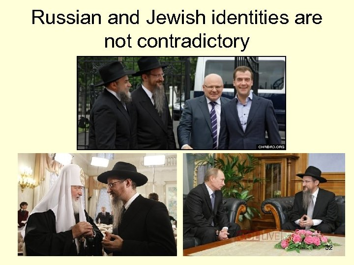 Russian and Jewish identities are not contradictory 32