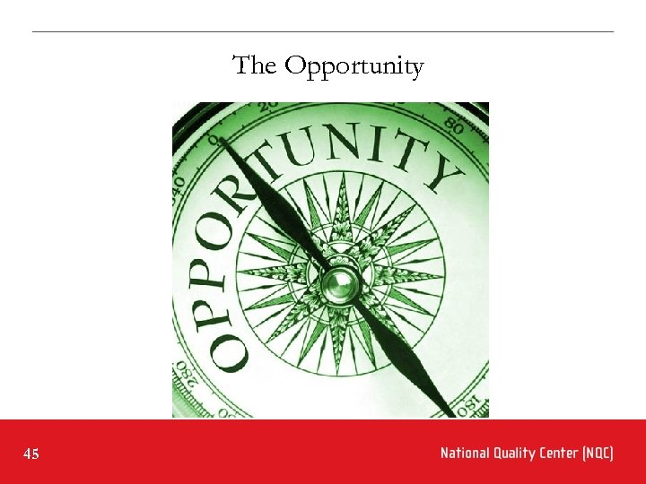 The Opportunity 45