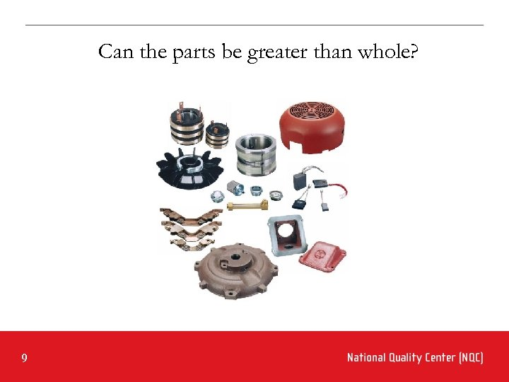 Can the parts be greater than whole? 9