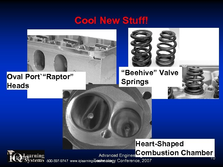 "Cool New Stuff! ""Beehive"" Valve Springs Oval Port`""Raptor"" Heads 3/19/2018 Heart-Shaped Combustion Chamber Advanced"