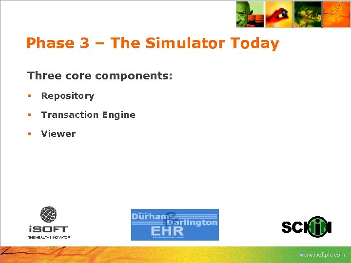 Phase 3 – The Simulator Today Three core components: § Repository § Transaction Engine
