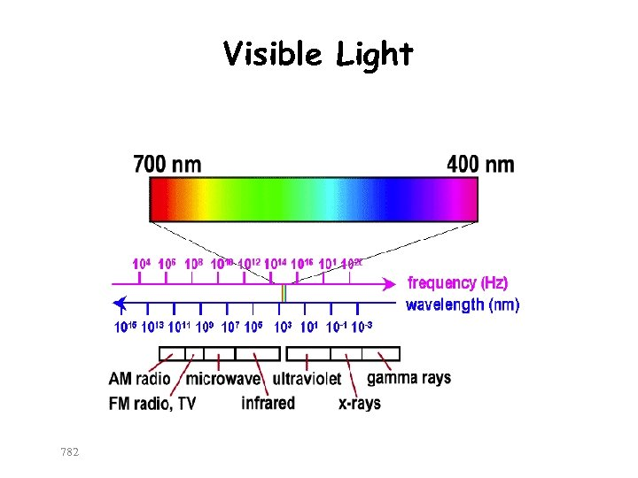 Visible Light 782