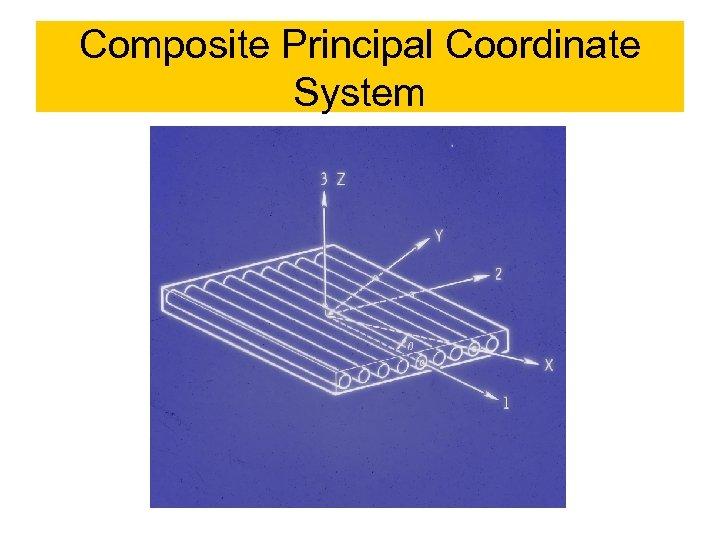 Composite Principal Coordinate System