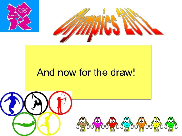 And now for the draw!