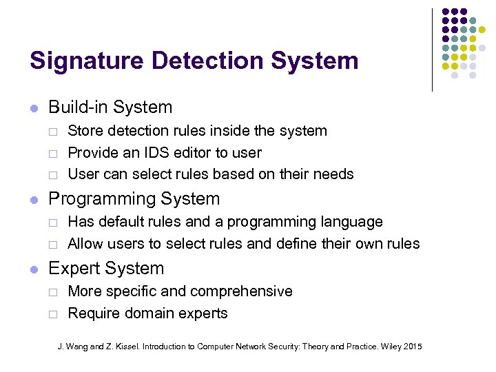 Signature Detection System Build-in System ¨ ¨ ¨ Programming System ¨ ¨ Store detection