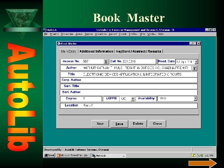Book Master