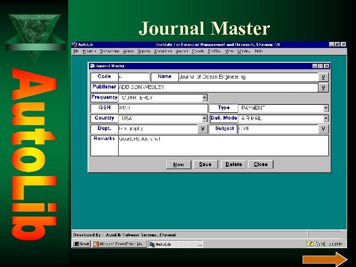 Journal Master