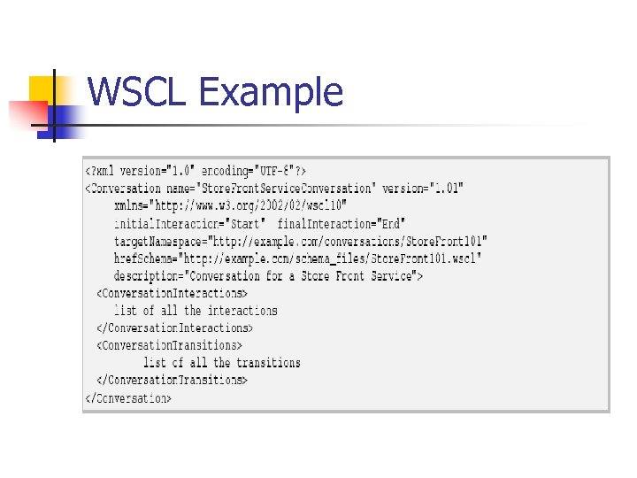 WSCL Example