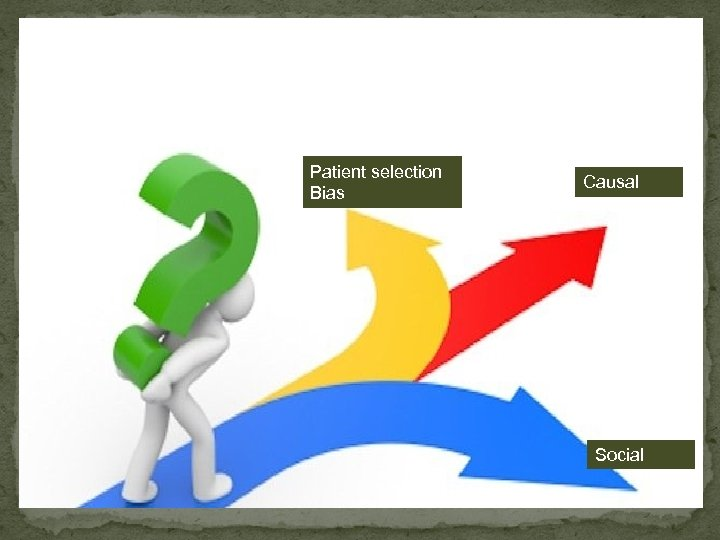 Patient selection Bias Causal Social