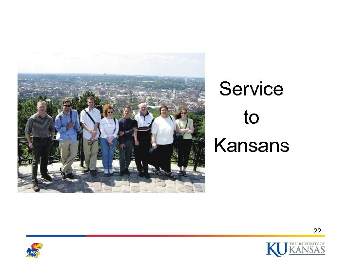 Photo Here Service to Kansans 22