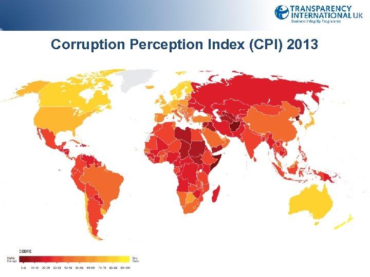 Corruption Perception Index (CPI) 2013