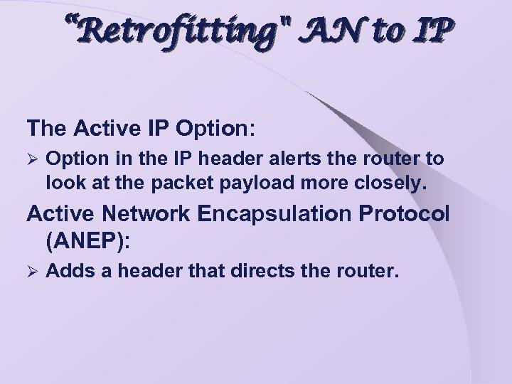 """Retrofitting"