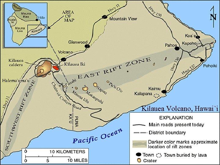 Kilauea Volcano, Hawai`i