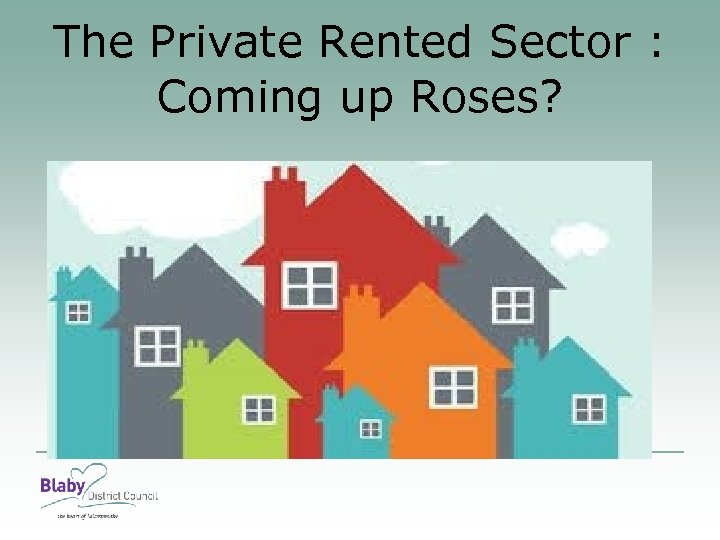 The Private Rented Sector : Coming up Roses?