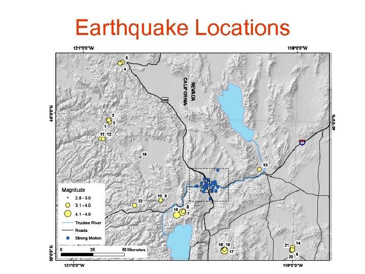 Earthquake Locations