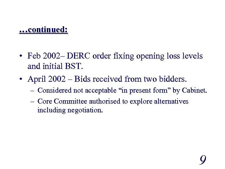 derc act 2003