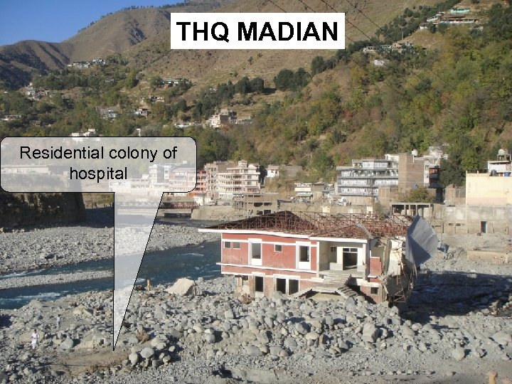 THQ MADIAN Residential colony of hospital