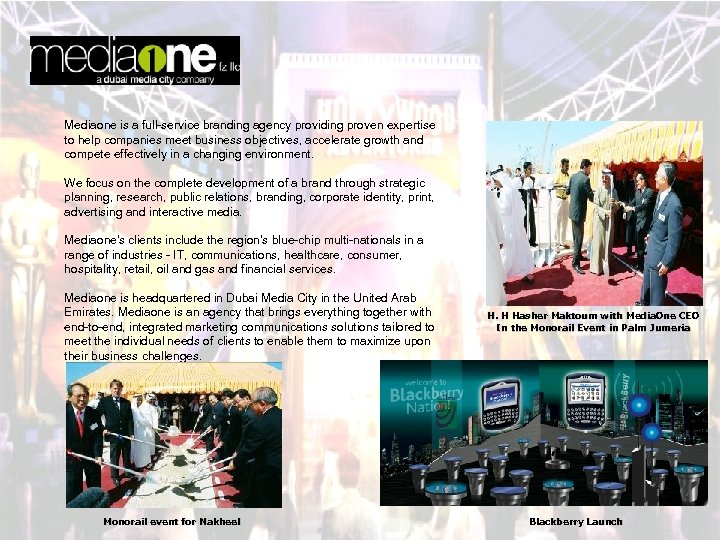 Mediaone is a full-service branding agency providing proven expertise to help companies meet business