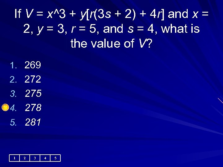 If V = x^3 + y[r(3 s + 2) + 4 r] and x