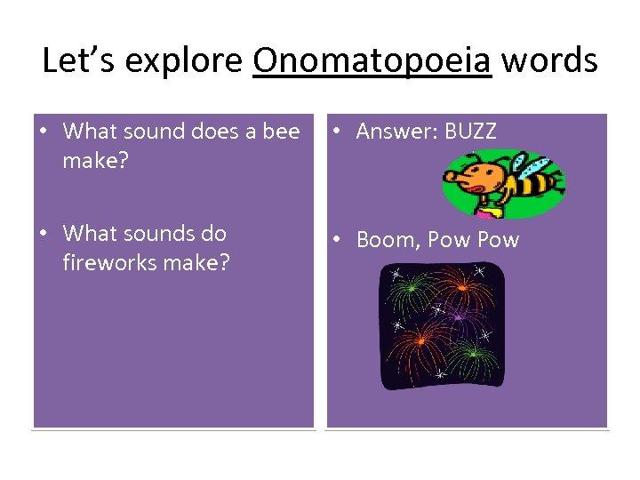 Onomatopoeia Part 2 Attention Part 1 Haunted