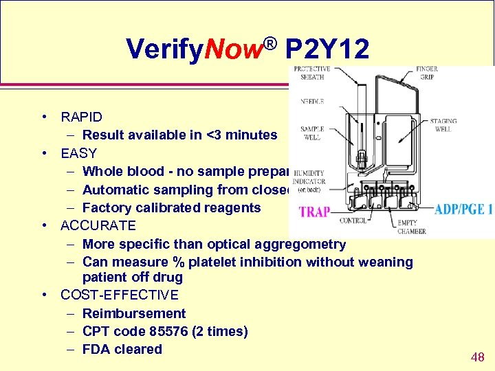 Verify. Now® P 2 Y 12 • RAPID – Result available in <3 minutes
