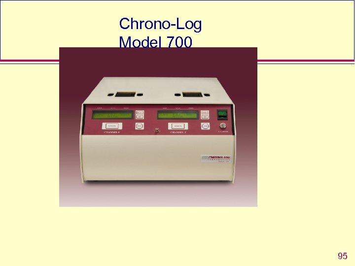 Chrono-Log Model 700 95