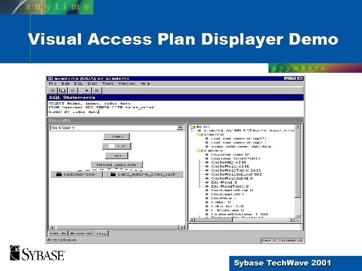 Visual Access Plan Displayer Demo