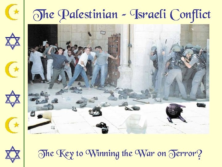 The Palestinian – Israeli Conflict The Key to Winning the War on Terror?