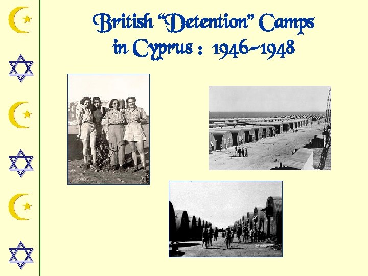 "British ""Detention"" Camps in Cyprus : 1946 -1948"