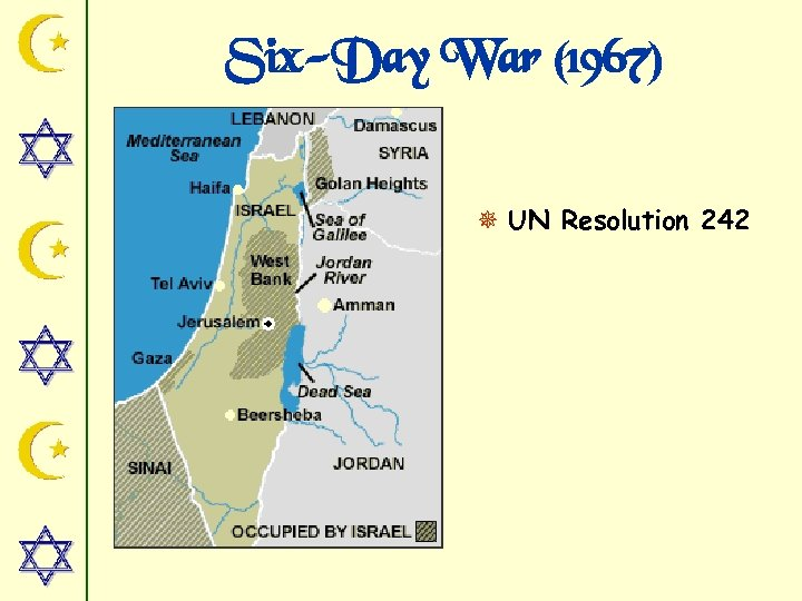 Six-Day War (1967) ¯ UN Resolution 242