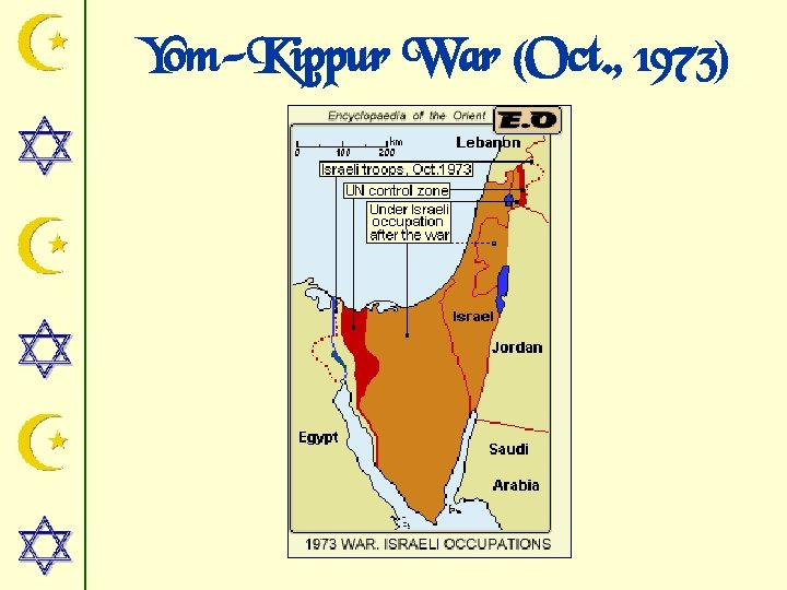 Yom-Kippur War (Oct. , 1973)
