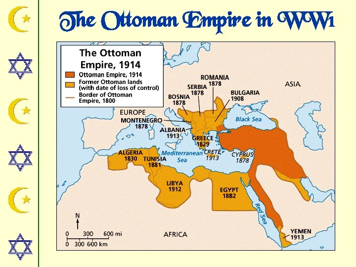 The Ottoman Empire in WW 1