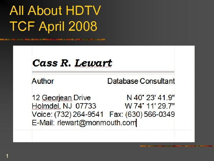 All About HDTV TCF April 2008 1