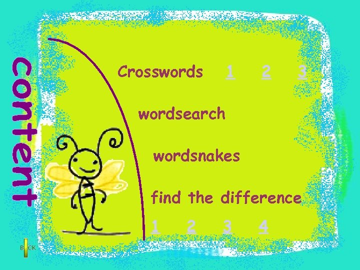 Crosswords 1 2 3 wordsearch wordsnakes find the difference 1 2 3 4