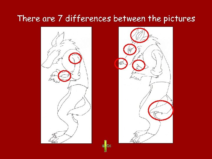 There are 7 differences between the pictures